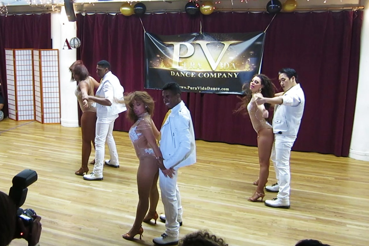 La Fuerza's Performance at Pura Vida's 3rd Year Anniversary Party (NYC)