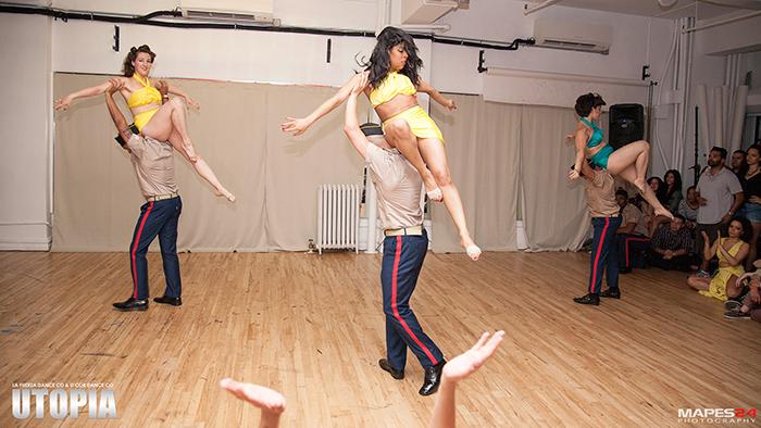 d'cor dance company perform at utopia