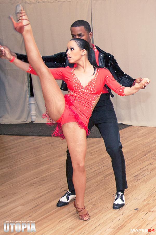 framboyan salsa dance performance at utopia