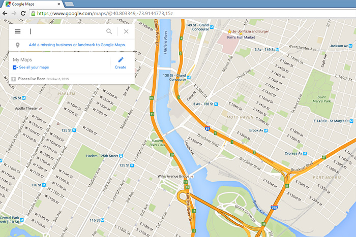 how to create your own map on google maps